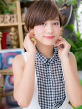 *+COVER HAIR+*…シンプル可愛い★マッシュボブa 小頭.54