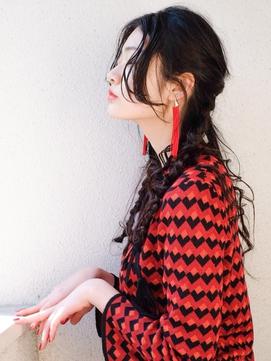 【LOJE】ロングでも簡単にできるノットヘア♪