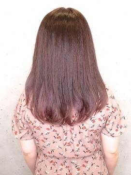 ●【髪質改善トリートメント配合】インナーカラー ラベンダー