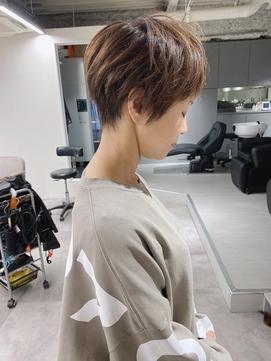 【森勇樹限定スタイル】ベリーショート