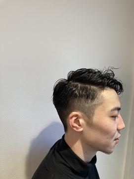 メンズモードヘア