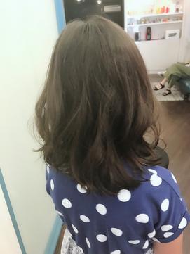 魅せ髪☆セミロングキッズ