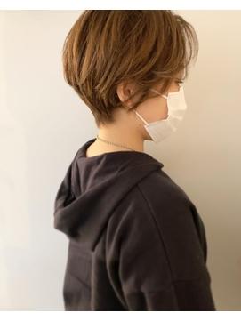 【KAILA】くびれショートハイライトベージュ☆高野