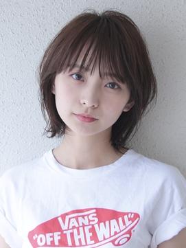 ウルフボブ☆#前髪#ラベンダーカラー#イメチェン
