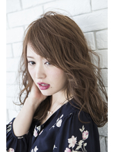 【miel hair渋谷】斜めバングが涼しげ♪サマーセミディ 涼しげ.13