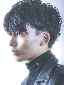 insi松永☆ツーブロック×モード×黒髪