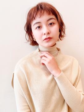 [K-two]ショートパーマ/ぱっつんボブ/ミニボブ[天王寺/阿倍野]