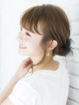 小顔暖色系カラーミニボブふわミディ【Prize所沢】