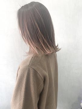 【Rough八乙女】外ハネボブカット×ハイライト