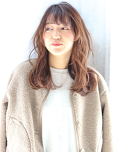 【bouquet】小顔効果◎無造作カール×ロングヘア.1