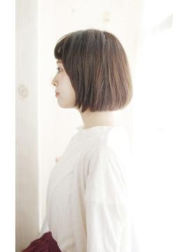 吉祥寺斜めバングフェザーロングボルドークラシカルワンレン/128