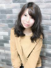 パーマで創る☆暗髪に似合うセミロング.18