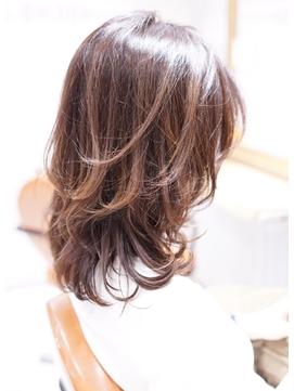 20代30代40代50代SHIZUOラウンドCカーブ小顔前髪ひし形カット