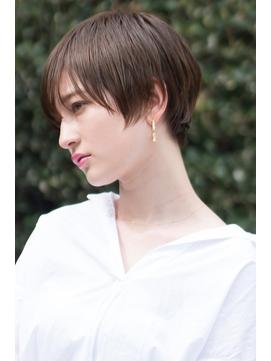 【HAVANA天神】大人かわいい☆小顔ハンサムショート☆イルミナ