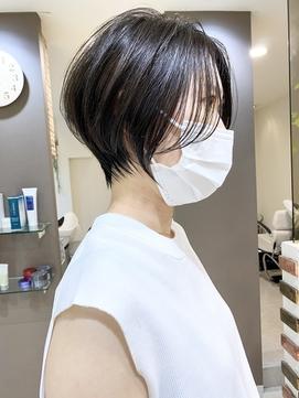 30代/40代キレイめハンサムショート