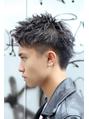 ワイルドツーブロック 刈り上げ イメチェン アップバング モテ髪