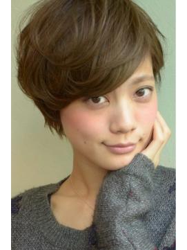 【DECO・穂積 聡】外国人風☆大人可愛いカールショート