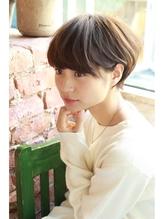 【+~ing deux】*厚めバングの可愛いショート*【上川渡紗穂】 ベリーショート.53
