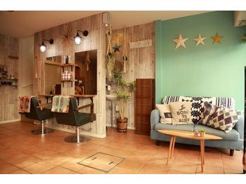 ヘアーアンドネイルサロンブルー(hair & nail salon BLUE)(神奈川県横浜市港北区)
