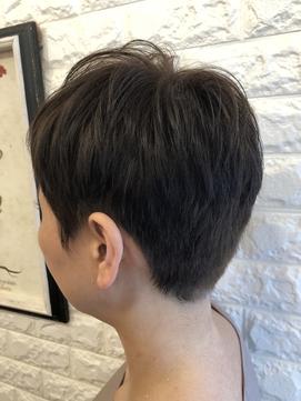 【Niji hair:make】フレンチベリーショートスタイル