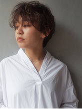 『LESS』くせ毛風パーマ×マニッシュショート.17