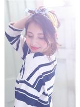 [レイフィールド小牧]ゆるふわバンダナアレンジ グラマス.14