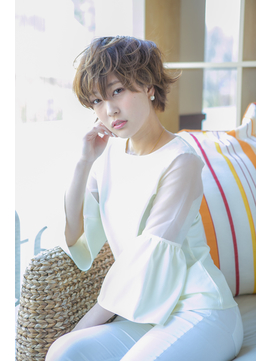 【g beauty】大人フェアリー♪30代40代◎無造作×丸みショート