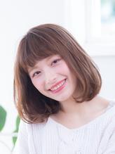 ☆ワイドバングが好印象なボブスタイル☆ .60