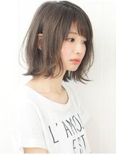 『rue京都』黒髪暗髪アッシュ小顔前下がり切りっぱなしボブ☆.56
