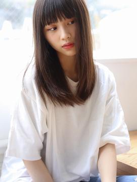 Rui似合わせストレートロング×モードフルバング【Violet横浜】
