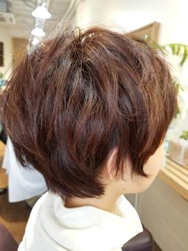 hair sos 小顔ショートstyle