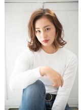 【秋髪】オレンジベージュ.14
