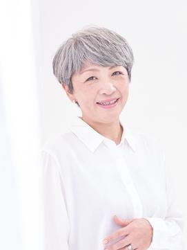 【えがお美容室】50代60代に人気☆美髪ハイクオリティショート