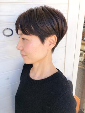[OCEAN Hair&Life]濡れ髪☆ハンサムショート☆刈り上げ☆