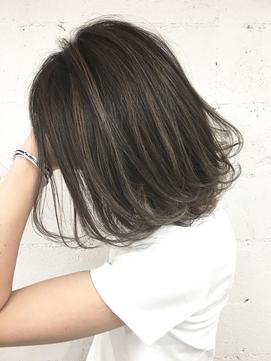 【Blanc/静岡】ハイライト/ローライト/ 外ハネボブ hi