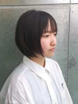大人ショートボブ×小顔似合わせカット【奥村北斗】AnnaLanna