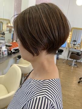 骨格髪質改善ショート☆60代