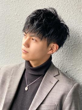 【L-MARK 池谷義彦】爽やかスマートマッシュ/黒髪