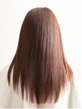 誰もが憧れる指通りの美しいツヤ髪♪ツヤツヤぷるんな仕上がりで、自信の持てる後ろ姿へ◎