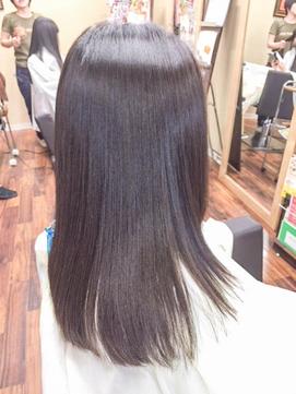 極美縮毛矯正専門 chichikaka 小学生に酸性矯正