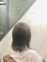 アッシュグレージュ × 外ハネボブ.26