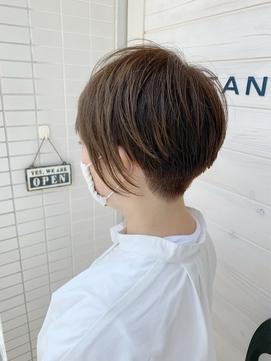 [OCEAN Hair&Life藤原純] 刈り上げショート☆