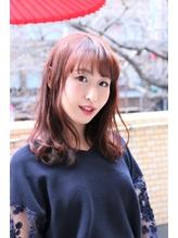 【coma中野】暖色デザインカラーフェアリーセミロング .9