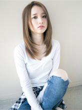 【しっとりストレート】アッシュグレージュ小顔ヘア 梅雨.3