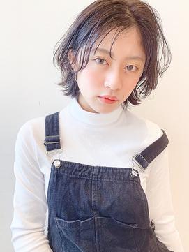 [K-two青山]耳掛け 外ハネボブ 簡単スタイリング カール[表参道]