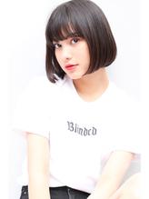 黒髪×シンプルボブ.4