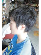 中学生ソフト2ブロック☆スパイキーショート 中学生.34