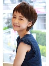【+~ing deux】耳かけソフトショート【上川渡 紗穂】 .43