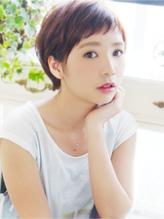 【ヘアジュレ 森】 女子可愛い~バング☆大人ショート キュート.41