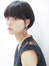 【MODEK's国分寺】黒髪ショート×イルミナカラー風暗髪透明感.24